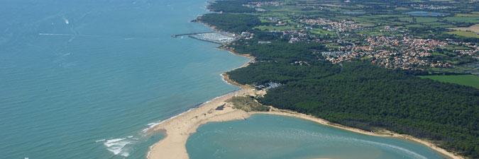 vue aérienne du Port Bourgennay