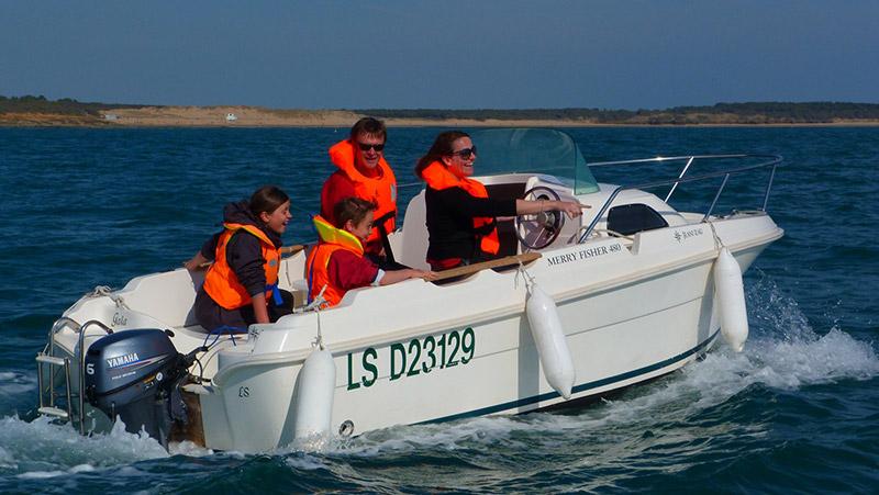 location bateau port bourgenay merry-fisher480
